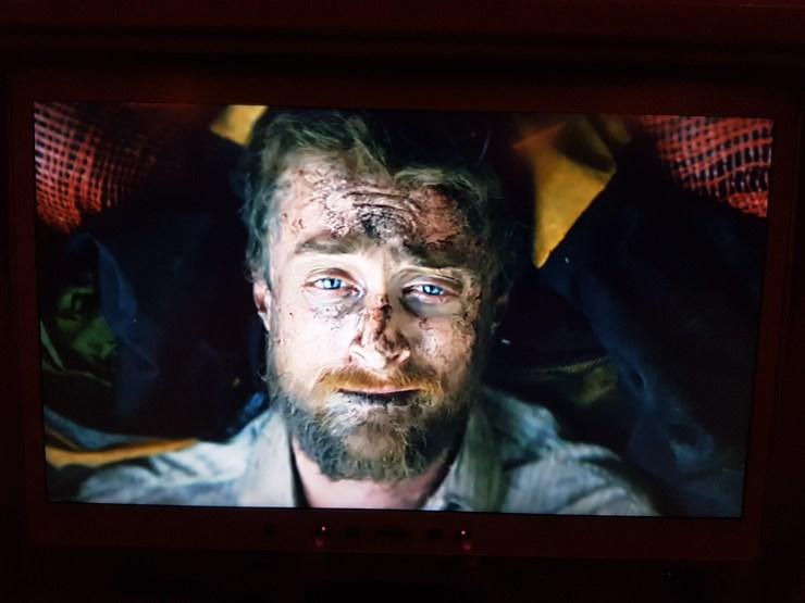 "Screenshot from the movie ""Jungle"" - Yossi Ghinsberg"