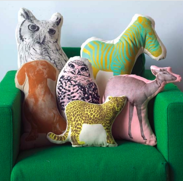 animal shaped pillow  mosey