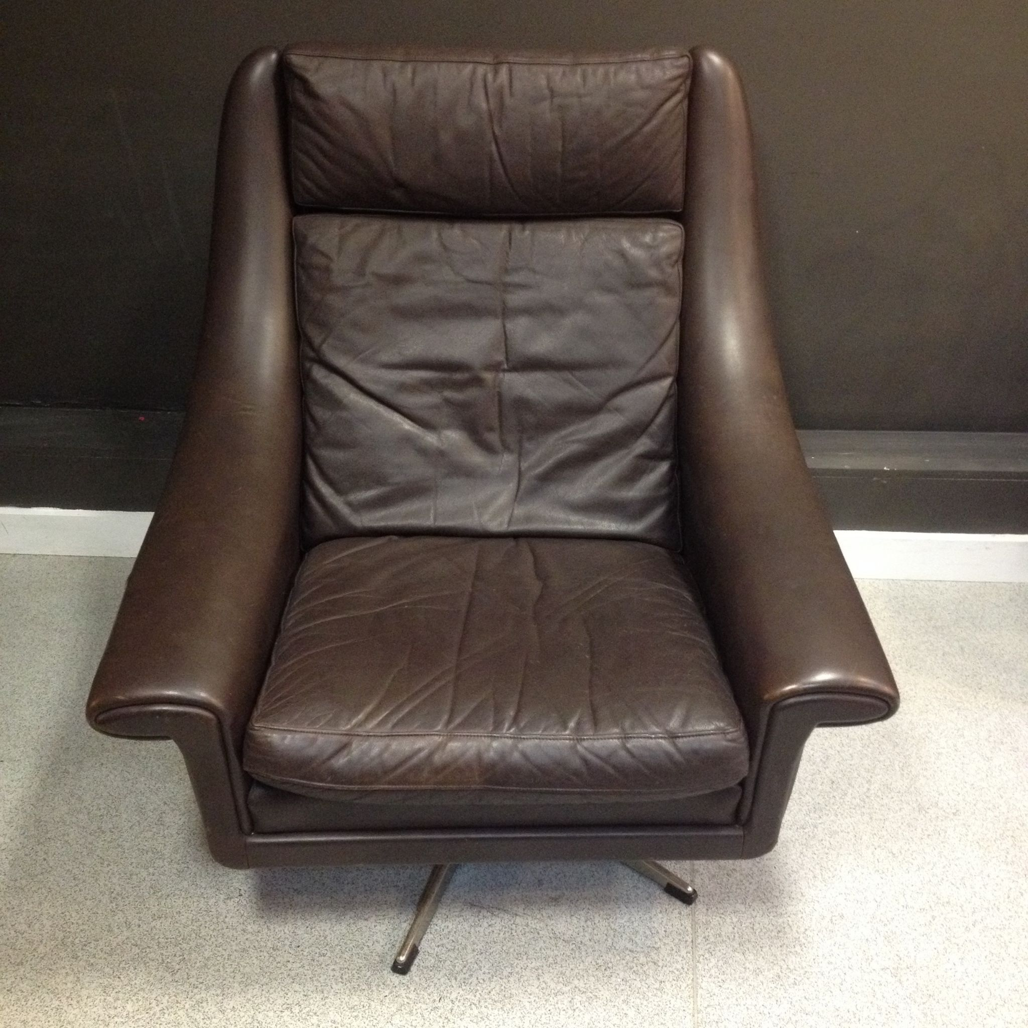 Super Comfy Chair Super Comfy Danish Leather Chair