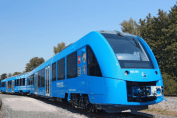 First hydrogen train from Germany