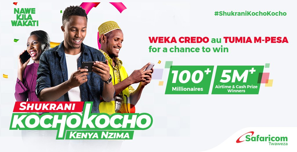 How to participate in the Safaricom Kocho Kocho promotion