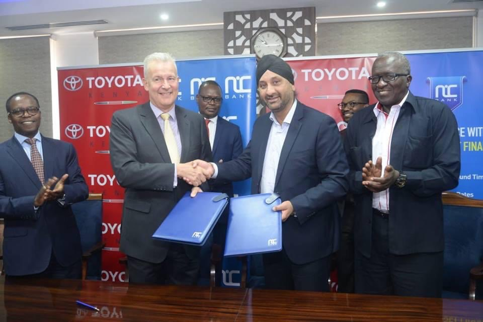 Toyota Kenya signs financing agreement with NIC Bank