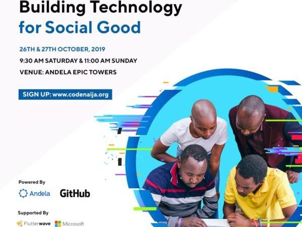 CodeNaija2019 hackathon at Andela registration almost closing