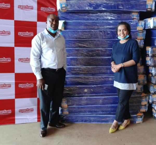 Superfoam donates mattresses to hospital in COVID-19 fight