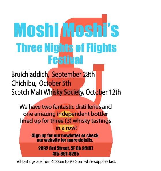 Moshi's Three Nights of Flights