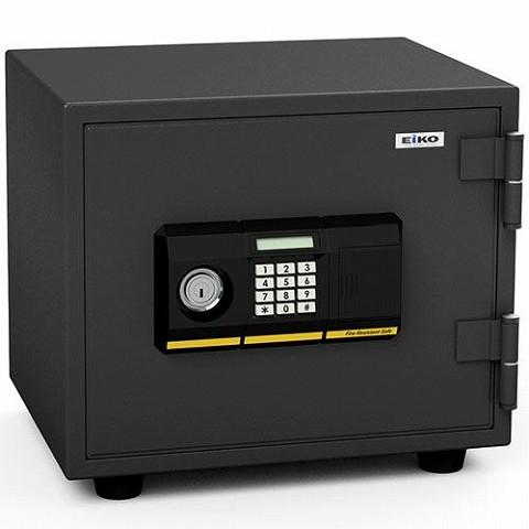 耐火金庫 小型 家庭用 イタズラ防止機能付き「エーコー BES-9PK」 テンキー式