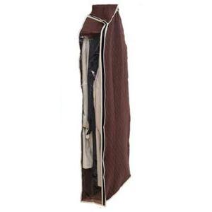 衣替え・衣装整理 洋服カバー 中が見える 炭入り消臭機能付き ロングタイプ 130cm 【×26個セット】