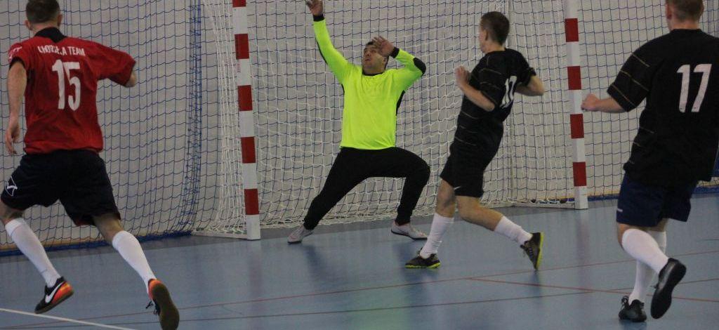 Chorzela Team  liderem.  Zakończyła się VII kolejka Kętrzyńskiej Ligi Futsalu