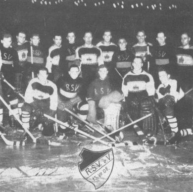 Rastenburg – drużyna hokejowa, fot. ok 1935r