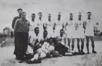 Rok 1952. Z trenerem Stankiewiczem.