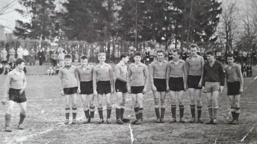 1957. Juniorzy. Pierwszy Mielnik, ostatni Rypina F. oraz Kościu Jan
