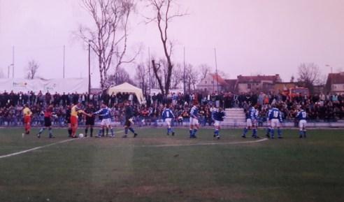 1999. Przed kolejnym meczem.