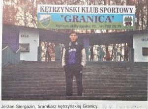 2000. Jerżhan Siergazin kazachski ślad w Granicy.