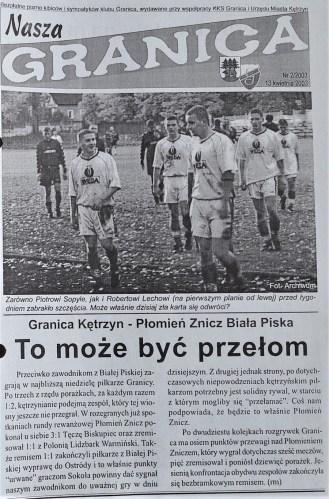 2003. Klubowe wydawnictwo z tamtych lat.