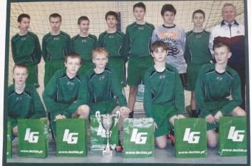 2009. Trampkarze Granicy na turnieju Złote Lwy Gdańskie.