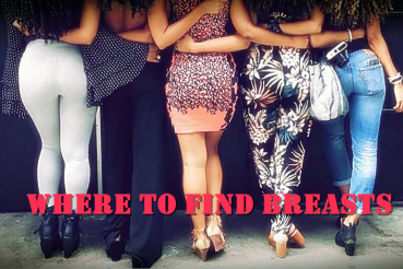where to find breasts