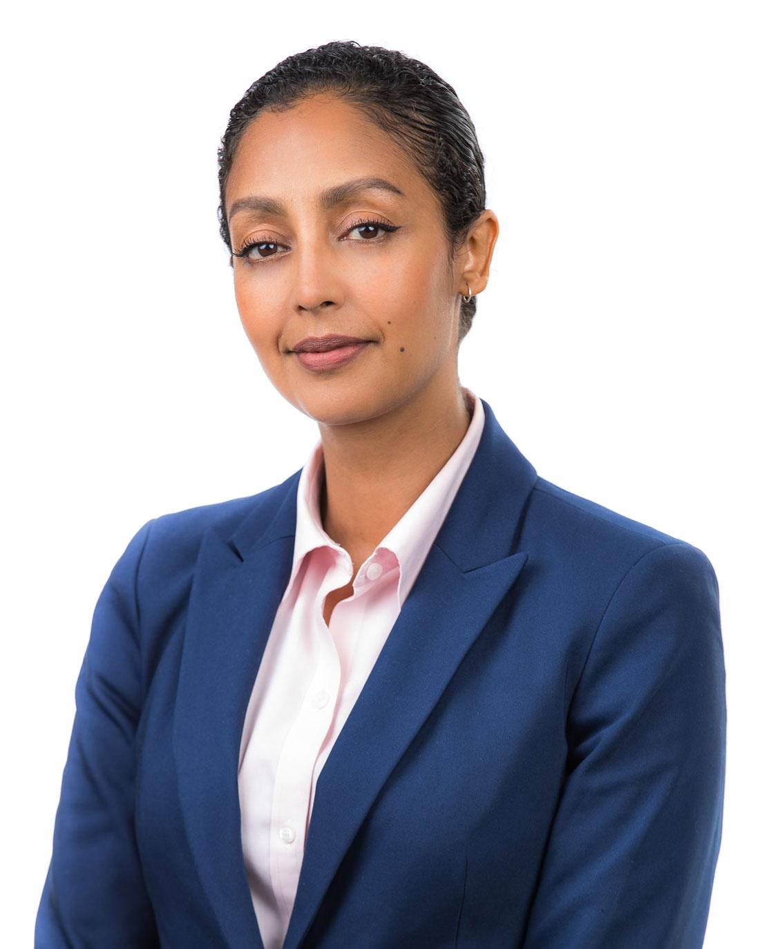 Nadia Gedamu, Admin. Asst.