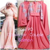 GAMIS PESTA CANTIK DAHLIA DRESS (made by order)