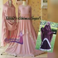 Baju Pesta Muslimah Ahimsa Syar'i (ready stock and made by order)
