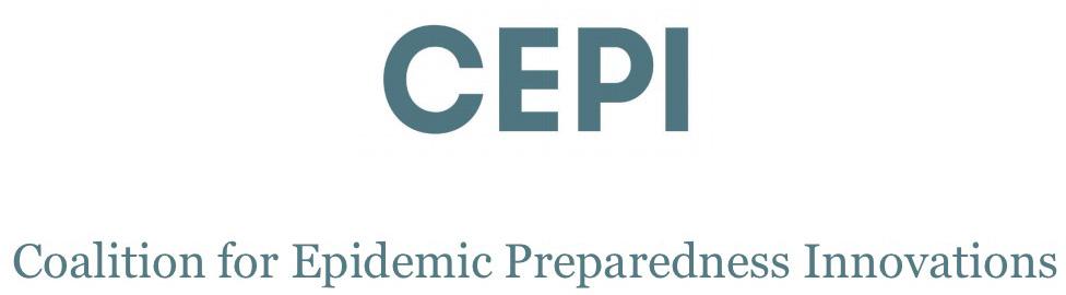 Коалицией для инновационной подготовленности к эпидемиям (Coalition for Epidemic Preparedness Innovations, CEPI).