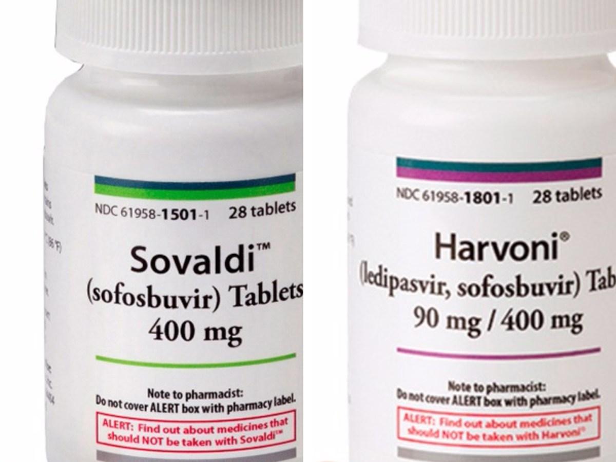 «Совальди» (Sovaldi, софосбувир) и «Гарвони» (Harvoni, ледипасвир + софосбувир).