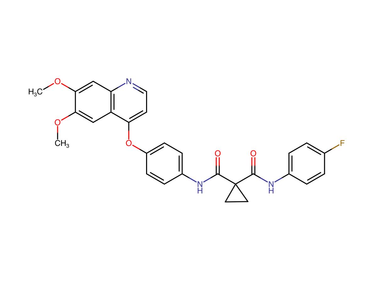 Кабозантиниб (cabozantinib).