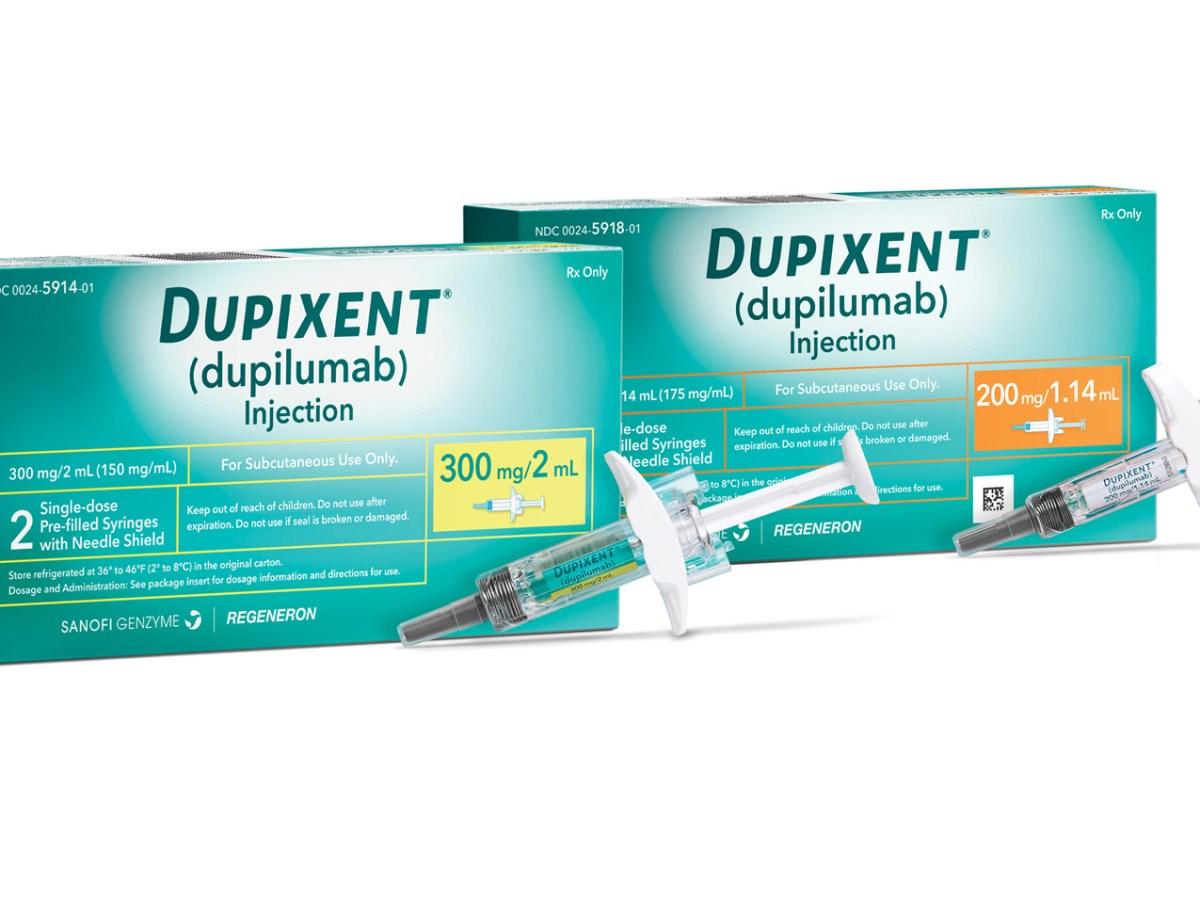 «Дупиксент» (Dupixent, дупилумаб).