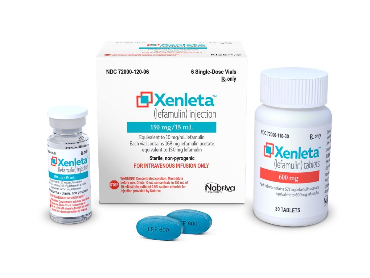 «Ксенлета» (Xenleta, лефамулин).