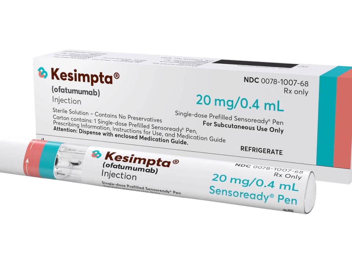 «Кесимпта» (Kesimpta, офатумумаб).
