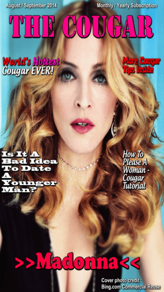 The Cougar 1 Cougar Dating Magazine