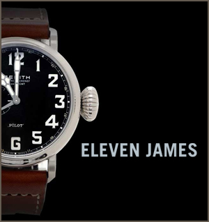 Eleven James Mosnar Communications Luxury Watches