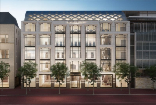 Haussmann - First high-end boutique department store in Amsterdam