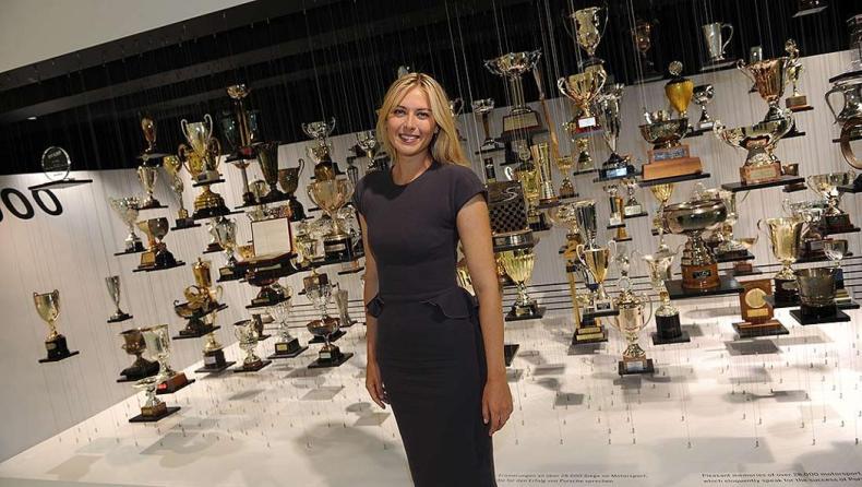 Maria Sharapova Porsche AG Brand Ambassador