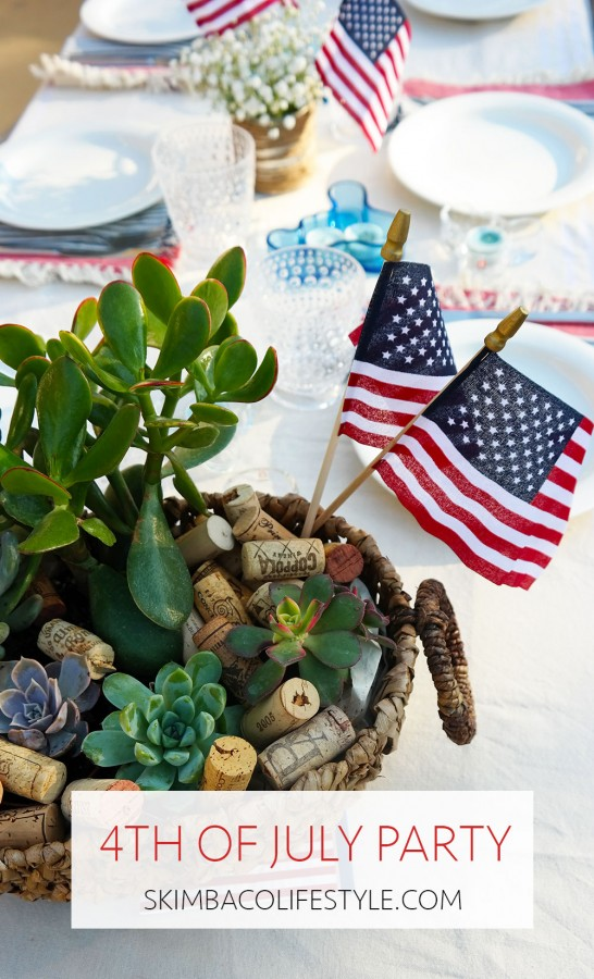 Happy 4th of July How-to Pull Off A Chic Healthy BBQ  MosnarCommunications