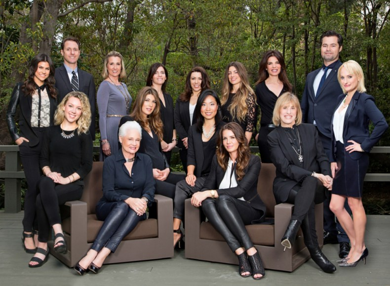 Stacy Gottula and Joyce Rey MosnarCommunications Luxury Homes Beverly Hills