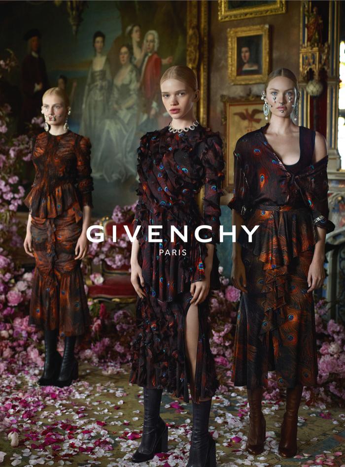 Givenchy Fashion Fall Winter Campaigns 2015 Luxury Brand Ambassadors MosnarCommunications