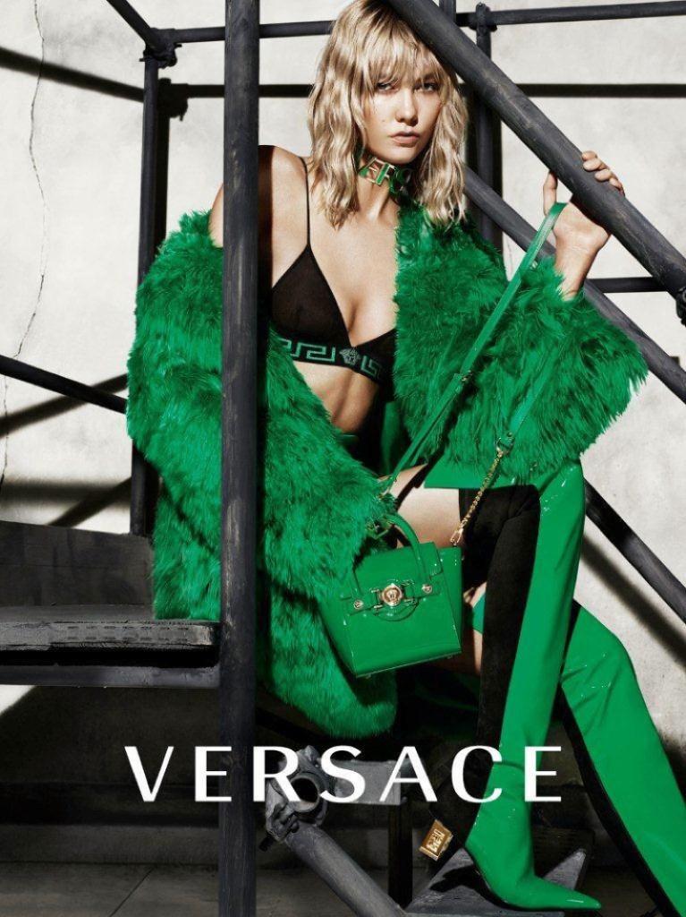 Versace Karlie Kloss Fashion Fall Winter Campaigns 2015 Luxury Brand Ambassadors MosnarCommunications
