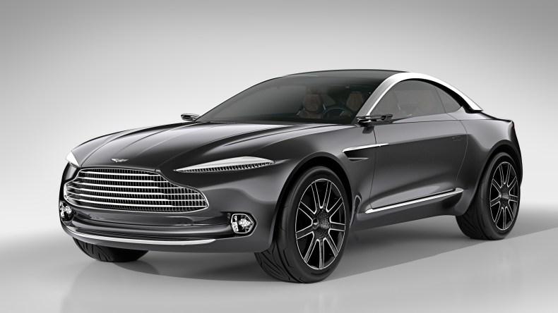 Aston Martin DBX MosnarCommunications Luxury Car