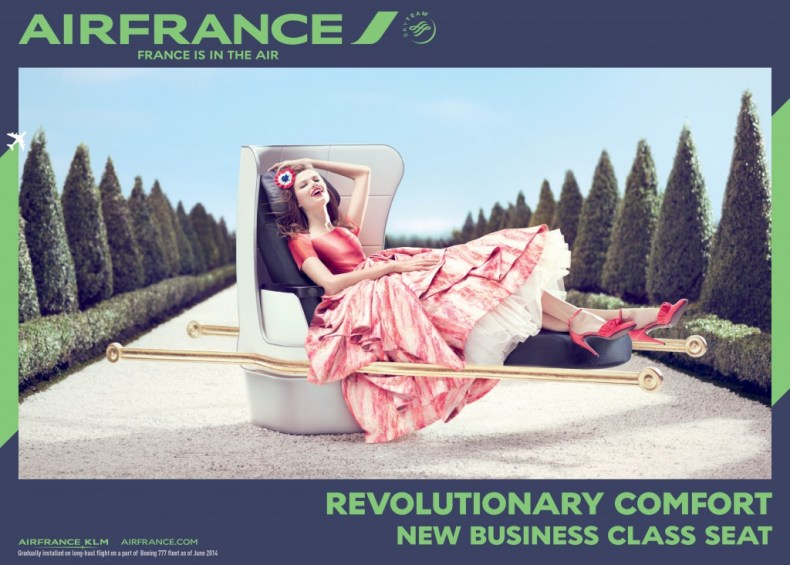 Air France Luxury Air Travel MosnarCommunications