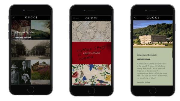 Gucci Places, Gucci Places App Opens Door To Luxury Travel Destinations