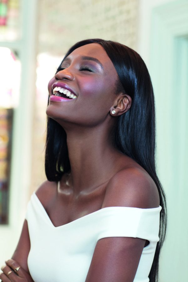 Paula Okunzuwa for Jane Iredale featured via Mosnar Communications