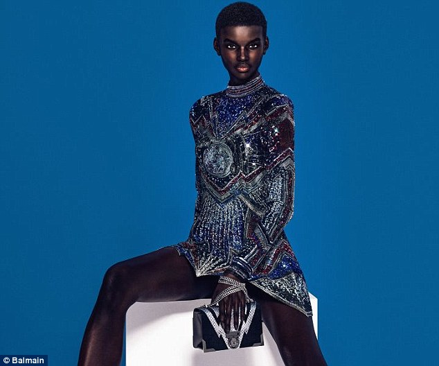 Balmain CGI Luxury Brand Digital Models Mosnar Communications Shudu