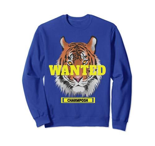 Wanted Designer Sweatshirt CharmPosh Mosnar Communications