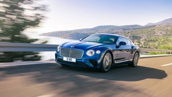 Bentley Continental GT Luxury Car Brand Mosnar Communications