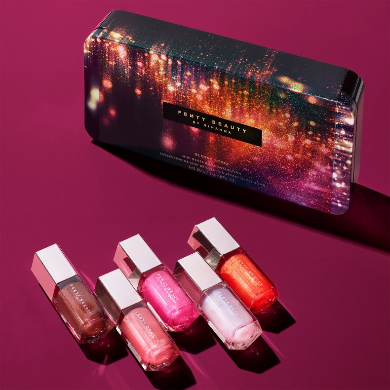 Fenty Beauty Glossy Posse Mini Gloss Bomb Set, Rihanna x Sephora: New Fenty Beauty Glossy Posse Mini Gloss Bomb Set