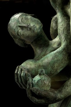 The touch cast bronze sculpture by Yuroz