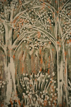 Oak Tree Series Spring Forest by Yuroz