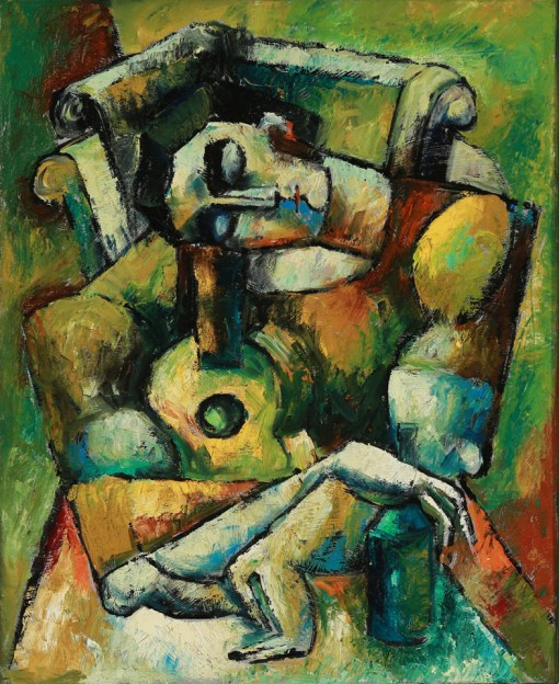The Musician's Song Oil on Canvas by Yuroz