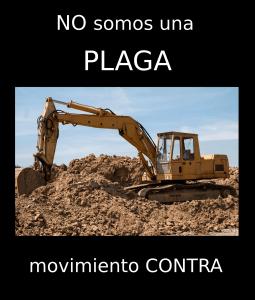 Poster del movimiento Contra
