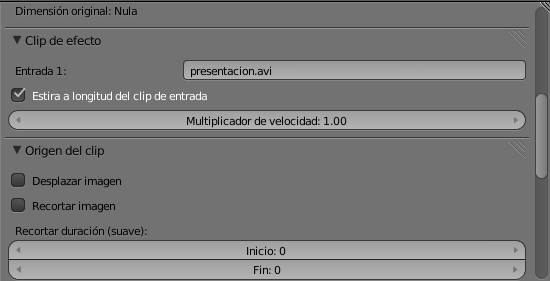 Clip de efecto